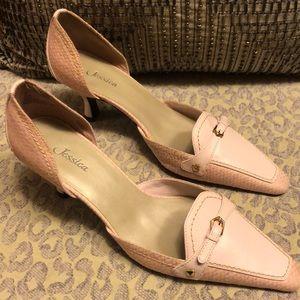 Jessica pink heels. 8M